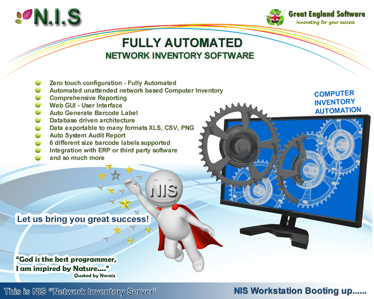 Automated PC Computer Server Laptop Notebook Hardware Network Inventory Software PXE